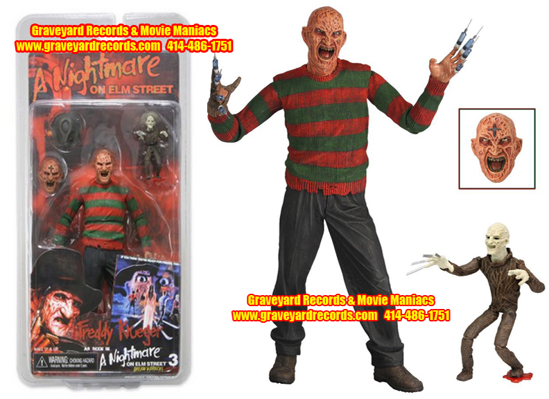 "8"" Series 3 Freddy Nightmare On Elm Street - ""Dream Warriors"""